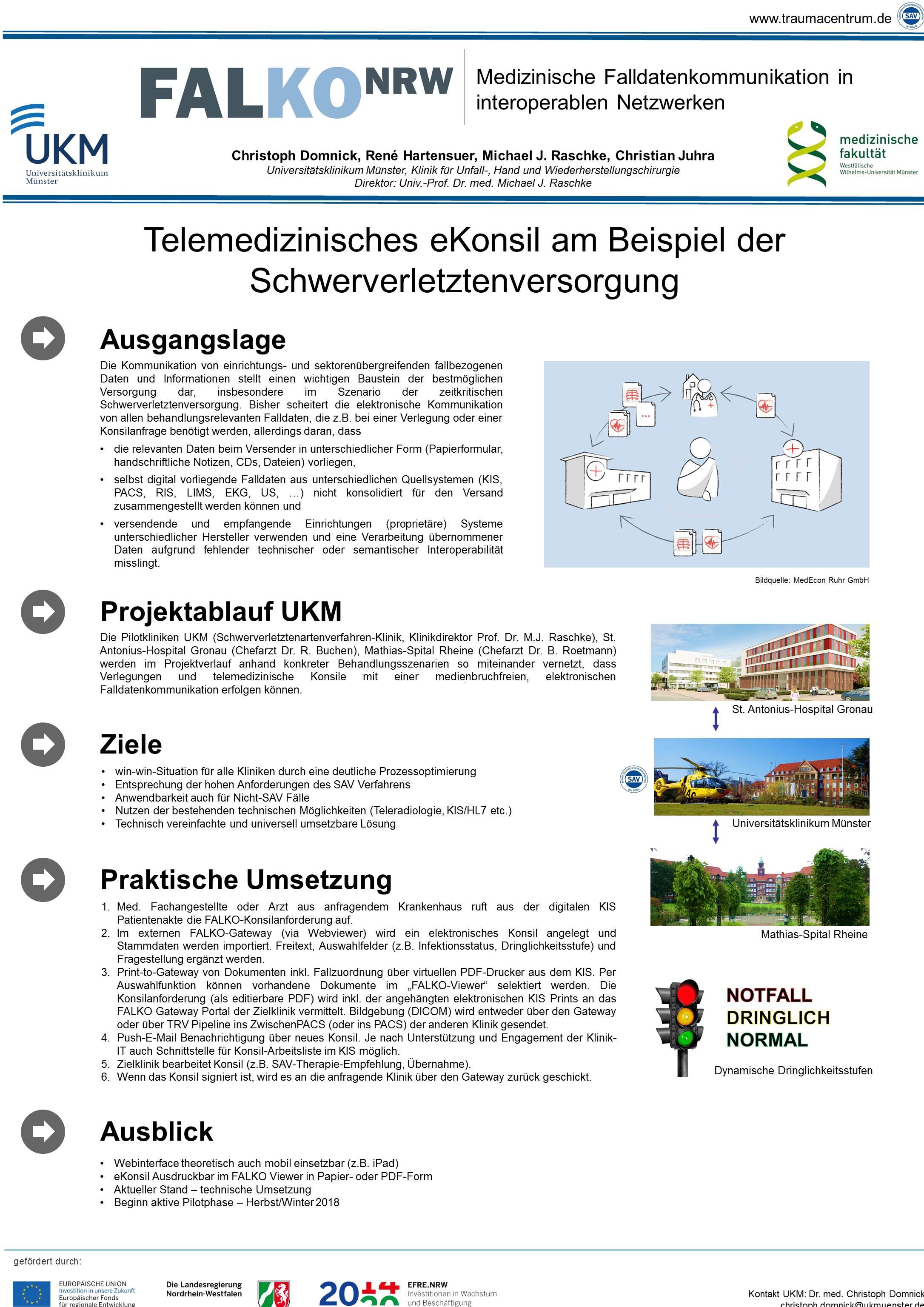 Das Projekt   Falko NRW
